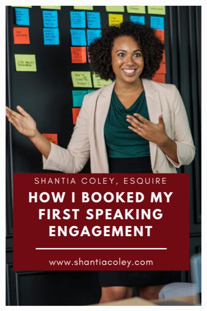 Black Woman Public Speaking
